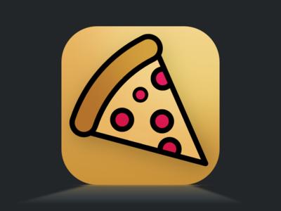 Pizza Time App app icon app design pizza sketch dailyui ui uidesign
