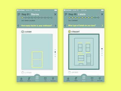 PhillyRow app exploration mobile app appdesign app uidesign uxdesign uxui ux