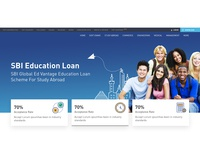Bank Loan Landing Page Design