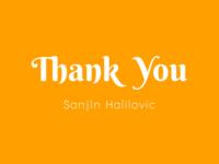 Hello and Thank you!
