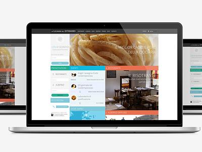La Locanda Del Ditirambo bootstrap wordpress italian restaurant responsive freecreative