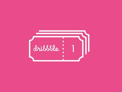 dribbble Invite @1x twitte ux ui notification dribble invite
