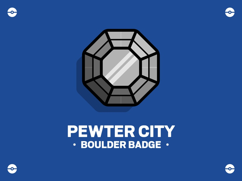 Pokemon - Boulder Badge