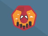 Spiderman Badge