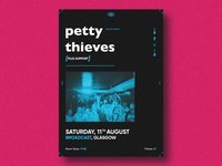 Petty Thieves Gig Poster