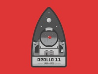 Apollo 11 Badge