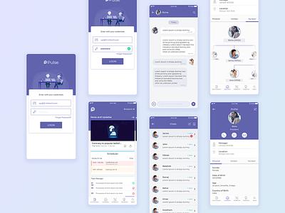 Employee Engagement application employee engagement application ux ui app design app
