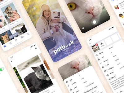 Pet Adoption & Donation App design pet app app design ui ux colors dogs cats pet adoption animals pet care mobile app