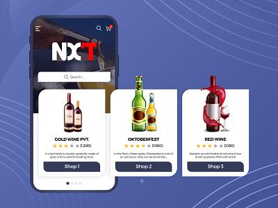 NX'T Dealer online store online shopping photoshop e commerce