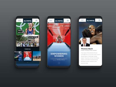 OR Microsite mobile version sports mag digitalpublication magazine landing digitaldesign design ui ux visualdesign mobile microsite sport