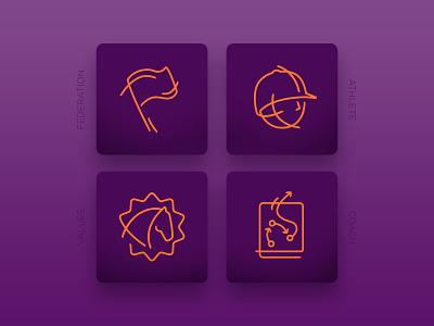 FEI Solidarity support Icons equestrian horse vector icon sports london ui visualdesign design digitaldesign