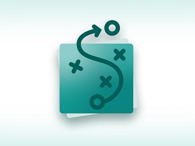 Sustainability strategy icon illustration ux app icon vector design visualdesign ui digitaldesign