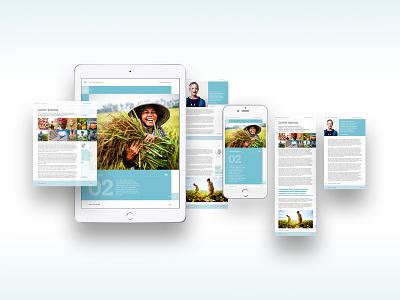 WTO Digital publications template digital publishing report design report reports publishing publication design ui visualdesign digitaldesign