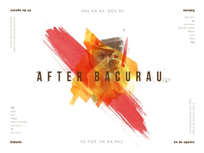 After Bacurau VA peace party visual design cinema brazil movie poster graphicdesign graphic design