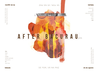After Bacurau VC graphics digital design social media socialmedia digital media digital painting poster party movie cinema brazil graphicdesign graphic digitaldesign
