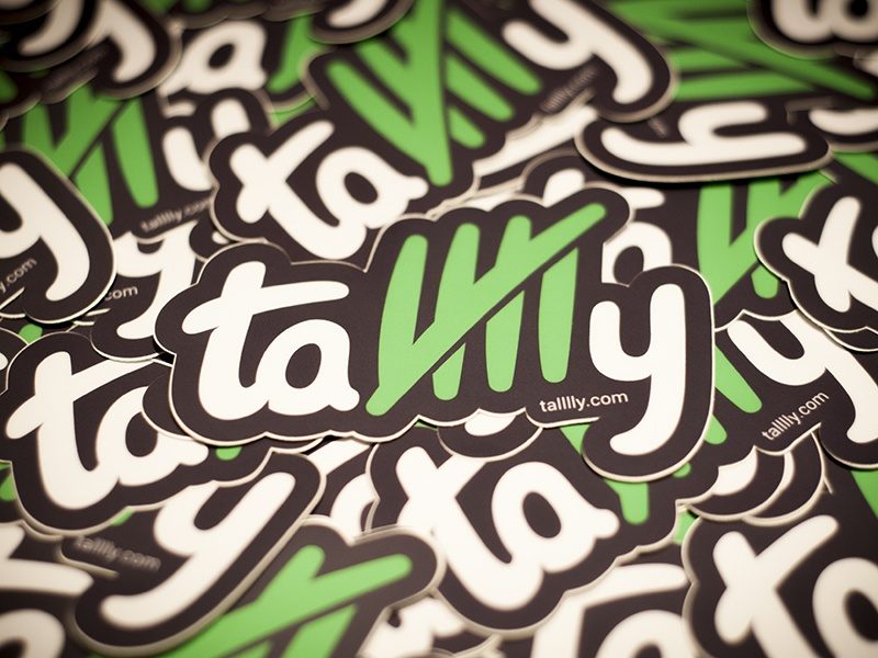 Talllly stickers dribbble