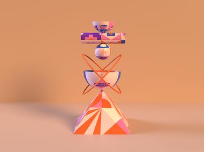 Shapes & Forms Exploration adobe illustrator forms geometric art adobe dimension geometric 3d illustraion