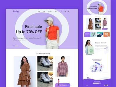Cart - Online Shopping Cart Web UI