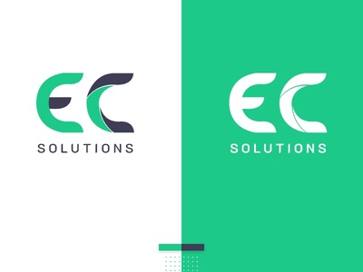 EC Solutions - logo design