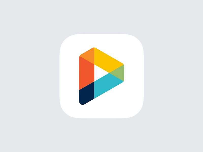 StoriesPlayground p pen pencil app icon play playful logo logotype mark