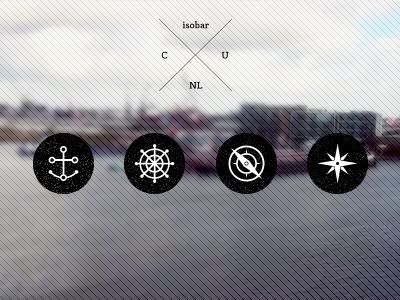 Marine Icons marine navy sea sailor anchor star compass wheel icon