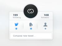 Twitter widget '2