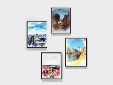 Photo frames painting photos gallary frame photo