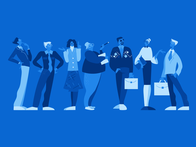 Business people team business graphic design illustration icons8