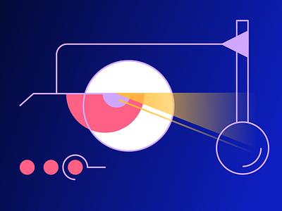 Searching digital interface illustration adobe illustrator vector illustration illustrator graphic design