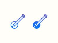 Banjo icons iOS style