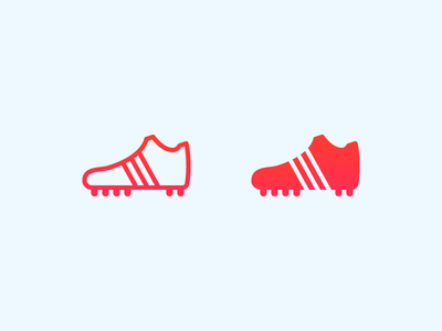 Football Cleats football f fifa ui design outlined icons8 icon design cleats