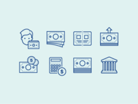 Dotty Dots Icons: Finance