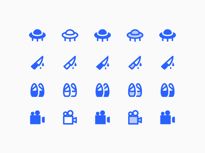 Material 2.0 Icons: Cinema cinema material vector ui design stroke outlined illustrator icons8 icon design icon graphic design