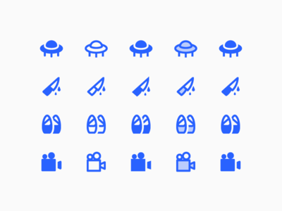 Material 2.0 Icons: Cinema