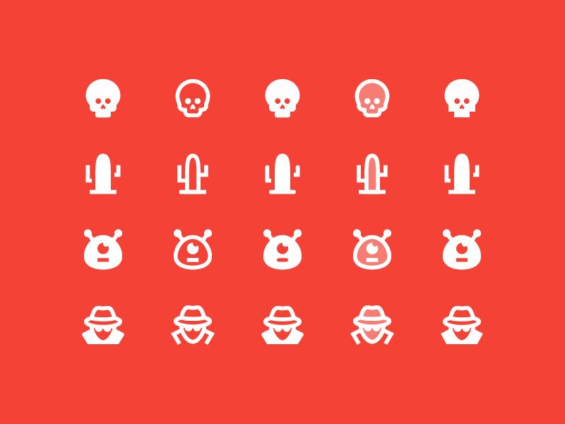 Material 2.0 Icons: More Cinema cinema material vector ui design stroke outlined illustrator icons8 icon design icon graphic design