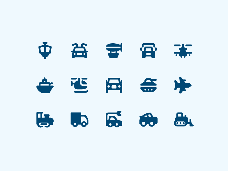 Material Design Rounded: Transport transport material rounded vector ui design stroke outlined illustrator icons8 icon design icon graphic design