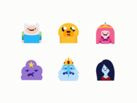 Color Icons: Adventure Time