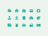 Material Design Sharp: Transport