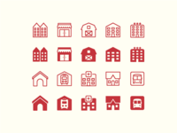 iOS Icons: City icons