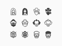 iOS Icons: Faces