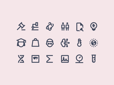 Material Design Outlined: Science science material design stroke icon design vector outlined illustrator graphic design icon ui design icons8