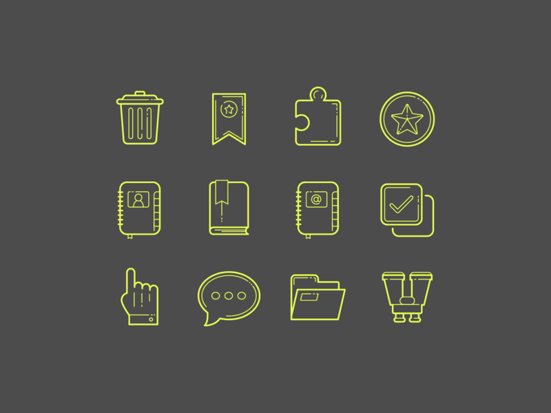 Hand Drawn Icons: Popular Icons popular icons carbon copy icons design stroke icon design vector outlined illustrator graphic design icon ui design icons8
