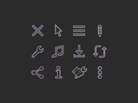 Plasticine & Carbon Copy icons: Popular Icons and User Interface