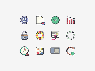 Hand Drawn Icons: Popular Icons and User Interface user interface popular icons carbon copy plasticine illustration icons design stroke icon design vector outlined illustrator graphic design icon ui design icons8