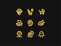 Material Design Two-Tone design material icon design vector outlined illustrator graphic design icon ui design icons8