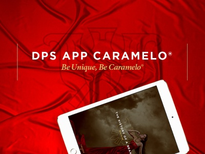 DPS App Cover - Caramelo® appdesign design ux ui fashion app mobile