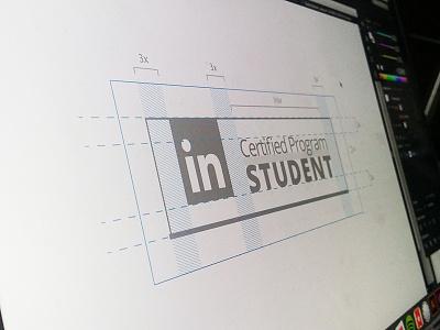 WIP - Linkedin Badge Concept webdesign design ux ui badge app mobile