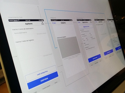 App Wireframe - WIP appdesign design ux ui wireframe mobile