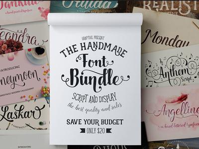 Font Bundle (Graptail) - 93%OFF