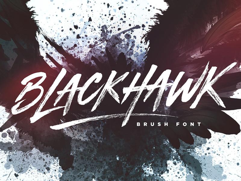 INSTAGRAM LOGO FONT DAFONT - BLACKHAWK Brush Font by Fonts